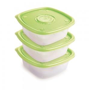 Imagem do produto - Conjunto de Potes de 1 L - 3 Unidades   Pop
