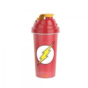 Imagem do produto - Shakeira de Plástico 580 ml com Tampa Rosca e Misturador The Flash