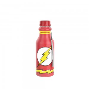 Imagem do produto - Garrafa de Plástico 500 ml com Tampa Rosca Retrô The Flash