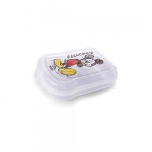 Imagem do produto - Sanduicheira de Plástico com Tampa Fixa Mickey