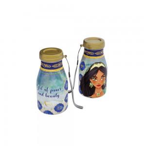 Imagem do produto - Garrafa de Plástico 390 ml com Tampa Rosca Milk Aladdin