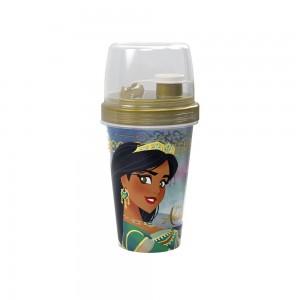 Imagem do produto - Mini Shakeira de Plástico 320 ml com Misturador, Fechamento Rosca e Sobretampa Articulável Aladdin