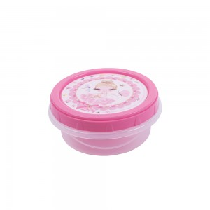 Imagem do produto - Pote de Plástico Redondo 390 ml Rosca Bailarina