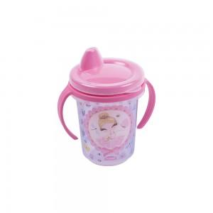 Imagem do produto - Caneca de Plástico 330 ml para Transição com Alça Removível e Fechamento Rosca Bailarina