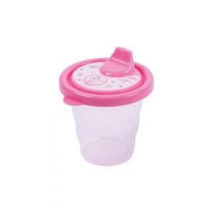 Imagem do produto - Copo de Plástico 200 ml com Tampa e Bico Bailarina