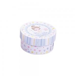 Imagem do produto - Caixa de Plástico Redonda 630 ml com Tampa Encaixável Bailarina
