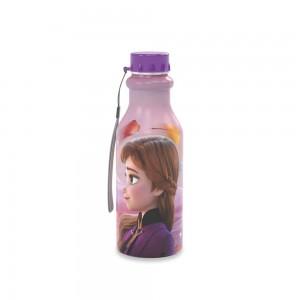 Imagem do produto - Garrafa de Plástico 500 ml com Tampa Rosca Retrô Frozen Anna