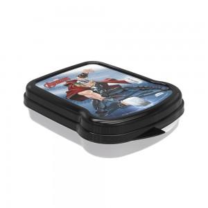 Imagem do produto - Sanduicheira de Plástico com Tampa Fixa Avengers Thor