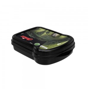 Imagem do produto - Sanduicheira de Plástico com Tampa Fixa Avengers Hulk