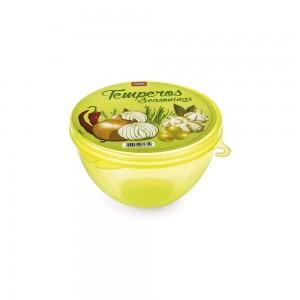 Imagem do produto - Pote de Plástico com Tampa Fixa para Temperos