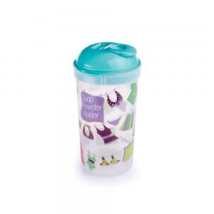 Imagem do produto - Porta Sabão em Pó de Plástico com Tampa Rosqueável Varal