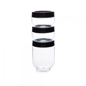 Imagem do produto - Conjunto Organizador de Plástico Gire e Trave 3 Unidades P