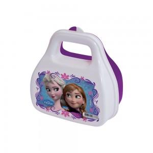 Imagem do produto - Pote de Plástico com Tampa Fixa em Formato de Bolsinha com Alça Frozen