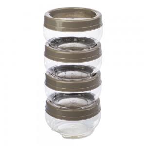 Imagem do produto - Conjunto Organizador de Plástico Gire e Trave 4 Unidades M