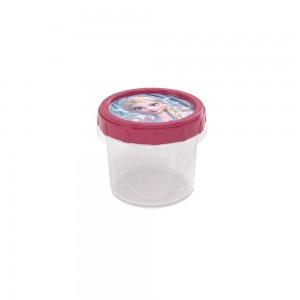 Imagem do produto - Pote de Plástico Redondo 300 ml Rosca Frozen