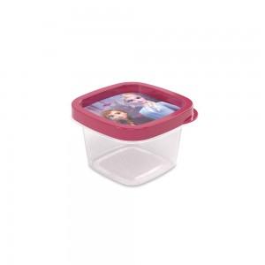 Imagem do produto - Pote de Plástico Quadrado 200 ml Clic Frozen