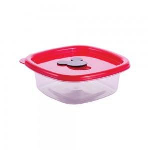 Imagem do produto - Pote de Plástico Quadrado 400 ml com Válvula Clic Mickey