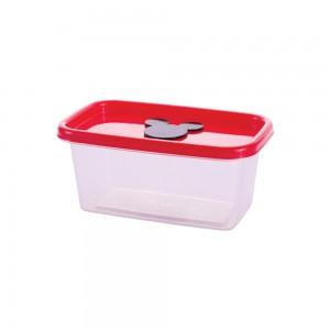 Imagem do produto - Pote de Plástico Retangular 380 ml com Válvula Clic Mickey