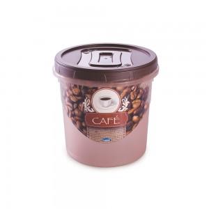 Imagem do produto - Pote de Plástico Redondo para Café 1,8 L Rosca