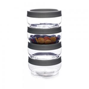 Imagem do produto - Conjunto Organizador de Plástico Gire e Trave 4 Unidades G