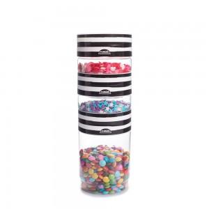 Imagem do produto - Kit Organizadores de Plástico Pequeno Plug Decora Melancia 3 Unidades