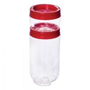 Imagem do produto - Conjunto Organizador de Plástico Gire e Trave 2 Unidades P