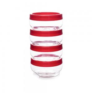 Imagem do produto - Kit Organizador de Plástico Gire e Trave Grande 4 Unidades