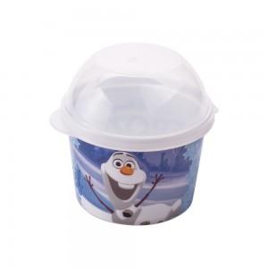 Imagem do produto - Pote de Plástico 400 ml com Tampa Fixa Olaf