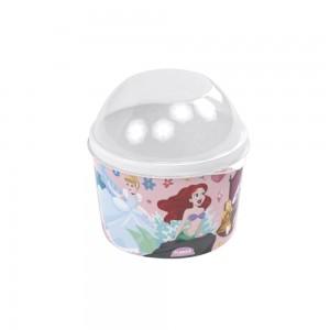 Imagem do produto - Pote de Plástico 400 ml com Tampa Fixa Princesas