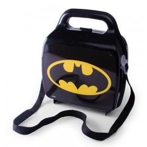 Imagem do produto - Lancheira de Plástico com Trava e Alças Batman