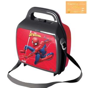 Imagem do produto - Lancheira de Plástico com Trava e Alças Homem Aranha
