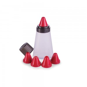 Imagem do produto - Bisnaga de Plástico para Confeitar 5 Bicos