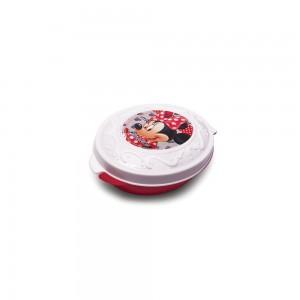 Imagem do produto - Pote de Plástico com Tampa Fixa em Formato Retrô Minnie