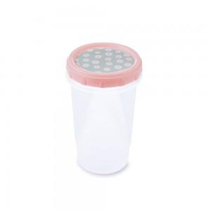 Imagem do produto - Pote de Plástico Redondo 550 ml Rosca Camomila