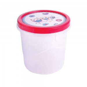 Imagem do produto - Pote de Plástico Redondo 1,8 L Rosca Coruja
