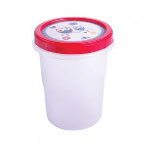 Imagem do produto - Pote de Plástico Redondo 1 L Rosca Coruja