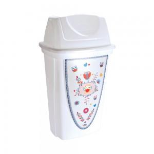 Imagem do produto - Lixeira de Plástico 14 L com Tampa Basculante Coruja