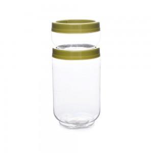 Imagem do produto - Kit Organizador de Plástico Gire e Trave Médio 2 Unidades