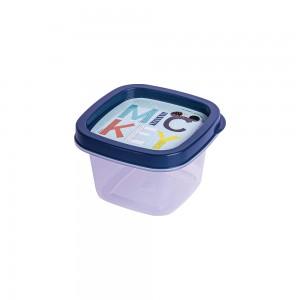 Imagem do produto - Pote de Plástico Quadrado 200 ml Mickey Baby Clic