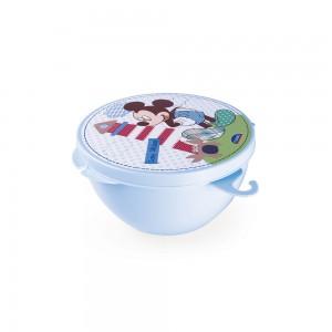 Imagem do produto - Pote de Plástico com Tampa Fixa Mickey Baby