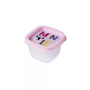 Imagem do produto - Pote de Plástico Quadrado 200 ml Minnie Baby Clic