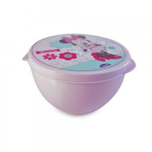 Imagem do produto - Pote de Plástico com Tampa Fixa Minnie Baby