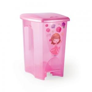 Imagem do produto - Lixeira de Plástico 5 L com Pedal Baby Princess