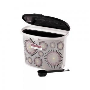Imagem do produto - Pote de Plástico para Café com Colher, Porta Filtro, Trava e Tampa Fixa Café da Manhã Glamour