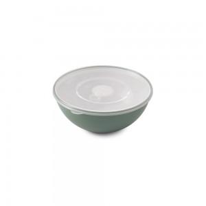 Imagem do produto - Tigela de Plástico 600 ml com Tampa e Válvula Duo 360° Verde
