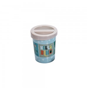 Imagem do produto - Porta Cotonete de Plástico Dino