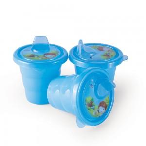 Imagem do produto - Conjunto de Copos de Plástico com Bico 3 Unidades Oliver