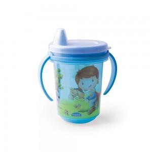 Imagem do produto - Caneca de Plástico 330 ml  para Transição com Alça Removível  e Fechamento Rosca Oliver