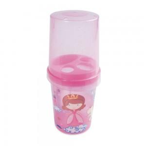 Imagem do produto - Porta Escovas e Creme Dental  de Plástico com Tampa Baby Princess
