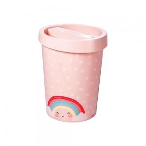 Imagem do produto - Lixeira de Plástico 5,5 L Arco Íris